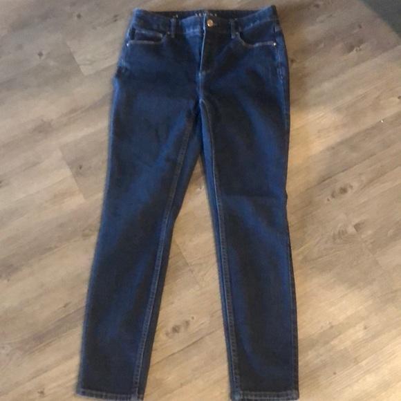 White House Black Market Denim - White House Black Market skinny ankle jeans